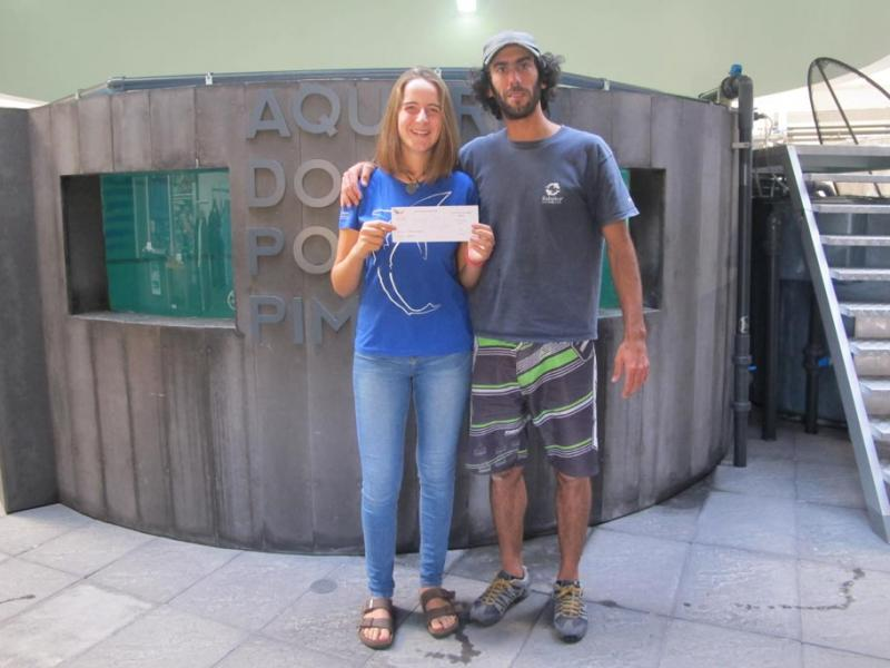 Congratulations Emília Branco, who received 1.000 Euros from us, so she could join the awesome