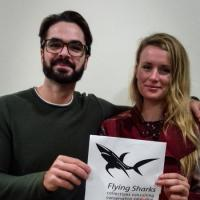 Research Fund - 18/04 Congratulations, Betty Laglbauer and João Rodrigues, who are on their way to Indonesia to study and photograph manta rays, and we gladly paid the 1.300 euros of their airfares.