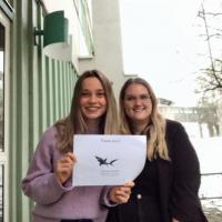 Research Fund - 21/01 Congratulations Hayley McDermott and Irene Villanueva, two ethology Master's students in the same lab at Stockholm University, working with Valentina Di Santo, who received some funding from us over the years as well. Hayley and Irene are currently beginning their research for their master's theses and are interested in the effects of ocean acidification on sharks. Their research is related to the effects of ocean acidification on stress and embryonic development, using brown-banded bamboo shark embryos (Chiloscyllium punctatum) as subjects. It was our absolute pleasure, even during these strange covidian times, to send them 1.000 euros to support their research.