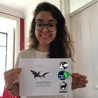 Research Fund 21/04 Congratulations Karen Avellaneda, a Colombian student who's about to embark on an exciting whale watching internship with Naturalist - Science & Tourism in the Azores. This young company combines leisure with scientific activities, so we were happy to help Karen with her traveling and transfer her 500 euros. This grant, however, marks the beginning of a new phase in our nearly 15 years old Flying Sharks Research Fund: from now on, each time we donate funds to a student, we will make that same student a member/friend of the Portuguese Association for the Study and Conservation of Elasmobranchs (APECE), Loving the Planet and Faidout. We believe these organizations, among many others, are doing good things for the planet and we'd like to support them as much as possible. We encourage you to visit their websites and do the same.
