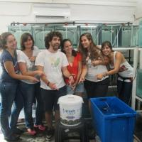 Research Fund - 15/07 Congratulations to Marta Soares and her friends at CIBIO, a prestigious research lab from the University of Porto, who got 500 Euros from us to support their research with <i>Labroides dimidiatus</i>.