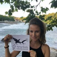 Research Fund - 19/07 Congratulations, Ornella Weideli, who received some funding from us back in 2017, and now for the second time so she may present her amazing PhD sharky work at AES in Snowbird. This time Ornella only needed 220 euros, so we simply couldn't say no. :)
