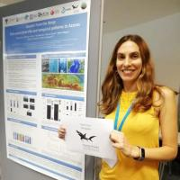 Research Fund - 19/09 Congratulations Rita Carriço, who's conducting her Ph.D. on sounds found in the deep waters of the Azores, using Passive Acoustic Monitoring (PAM). Using PAM, Rita evaluated seasonal and diel patterns of putative fish sounds identified in a deep-sea Azorean protected seamount, the Condor, and compared the abundance and diversity of sounds before and after the establishment of the protected area. This is such a cool project that we had to send Rita 350 euros, so she could go present her results at an international conference!