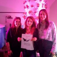 """Research Fund - 19/02 A few months ago, João's former Marine Biology student, Sara Sousa e Brito, expressed an interest in attending the aquariology conference AquaIberia with two of her mates. Our next question was """"How much do you need?"""" and we then slipped these young ladies 240 euros."""