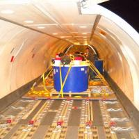 June 2009 June 2009 - This time we pretty much filled up DHL's Boeing 757 and there wasn't much room for anything else after we loaded all our tanks!