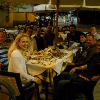 October 2010 October 2010 - Nothing beats a nice dinner arrangement with good friends, especially in beautiful Crete under a delightful atmosphere.