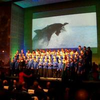 September 2012 The opening of 2012's International Aquarium Congress, in Cape Town, featured a spectacular show with a lovely chorus of young local voices.