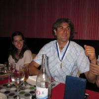July 2011 Check out Filipe Goulart (one of our most outstanding collectors) proudly wearing the well deserved Medal during dinner.
