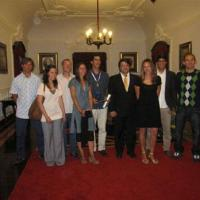 "July 2011 The awesome Flying Sharks ""Team Horta"", who went to the City Hall to collect the ""Merit Medal"". Left to right: Filipe Goulart, Filipa, Nelson Campino, Irma Cascão, Rui Guedes, João Castro (the Mayor), Janaina Sousa, Telmo Morato & Luís Silva. Congratulations, guys! You totally deserve this (and more!) for your amazing efforts during the ""Turkish Charter Delight"" operation in 2010. But don't rest too much because we've got many more cool things to come! :-)"