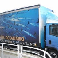 December 2011 While at the Oceanário we saw this fine institution's brand new shuttle, which carries the Oceanário's very positive mission on Ocean Conservancy to those folks who live away from the capital and never had a chance to visit the Oceanário.